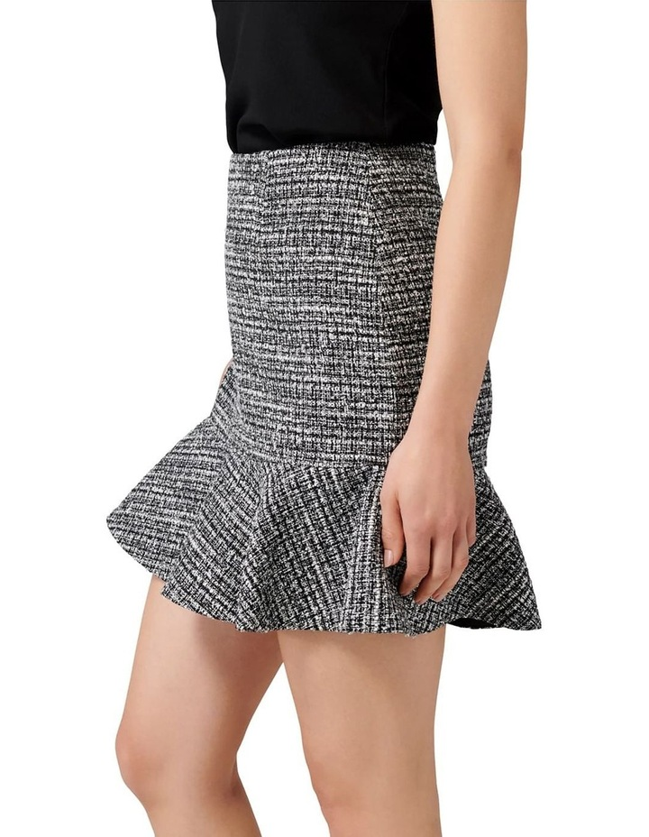 Kate Boucle Fit and Flare Skirt image 2