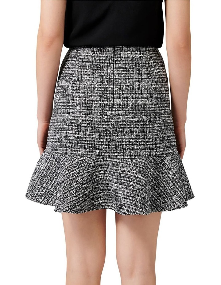 Kate Boucle Fit and Flare Skirt image 3