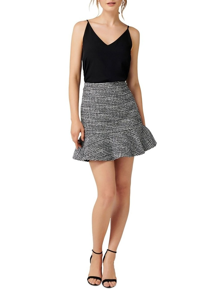 Kate Boucle Fit and Flare Skirt image 4