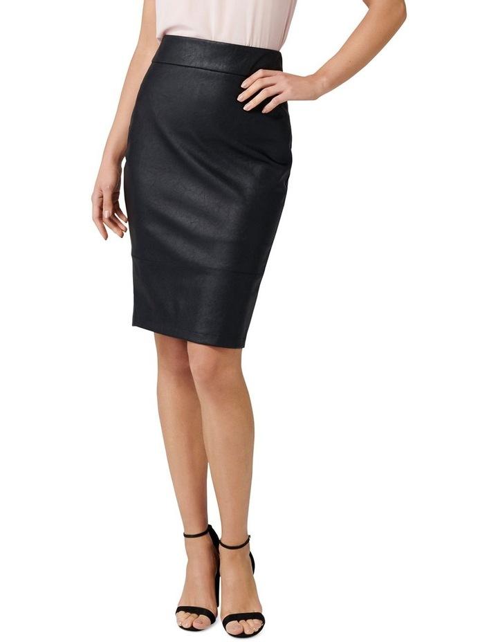 Alex PU Pencil Skirt image 1