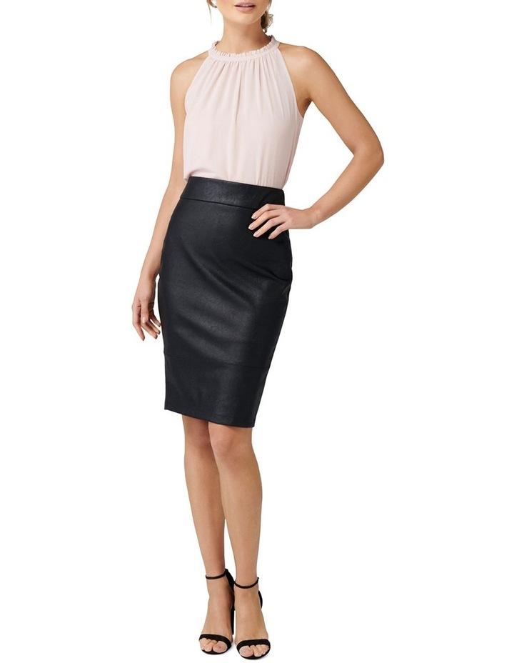 Alex PU Pencil Skirt image 4