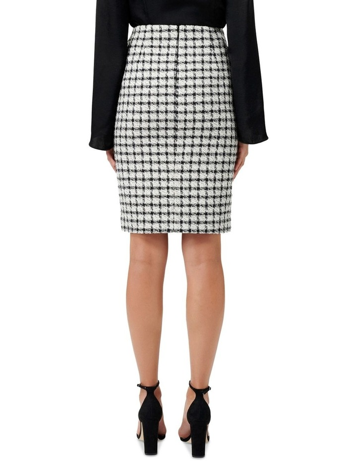 Lucy Boucle Wrap Button Pencil Skirt image 3