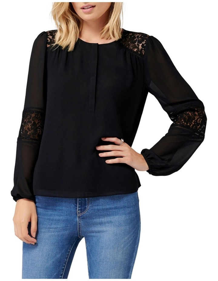 Lina Lace Spliced Blouse image 1