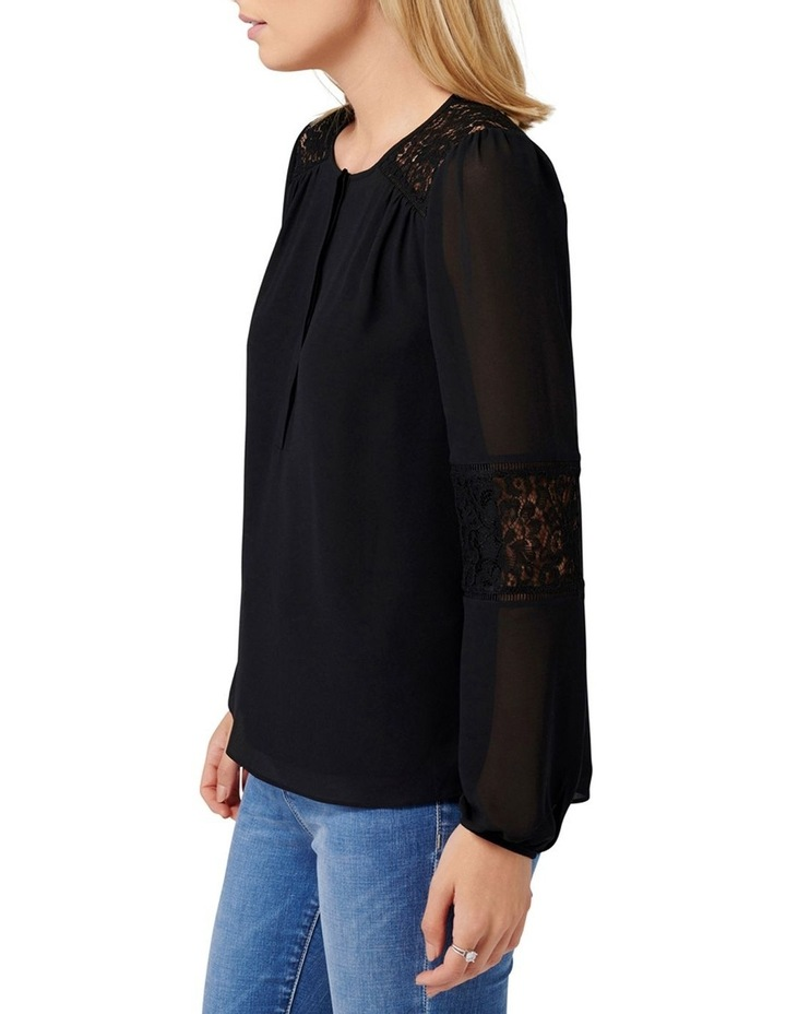 Lina Lace Spliced Blouse image 2