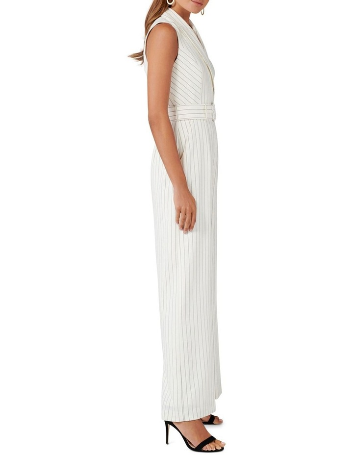Farrah Stripe Tux Jumpsuit image 3