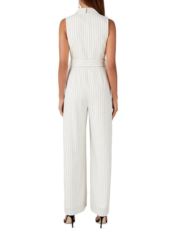 Farrah Stripe Tux Jumpsuit image 4