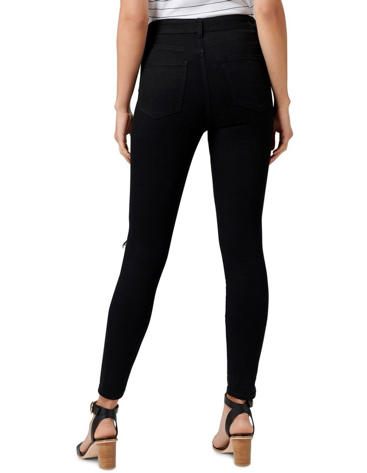 Cleo High Rise Ankle Grazer Jeans image 3