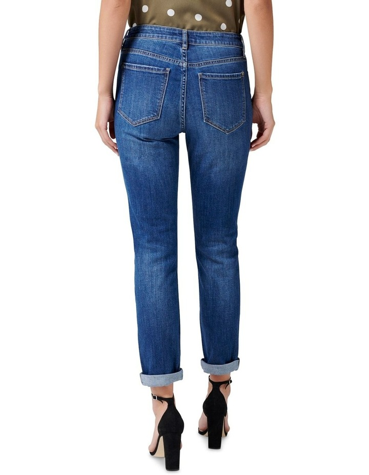 Emmy Mid Rise Girlfriend Jeans image 3