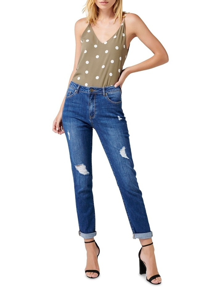 Emmy Mid Rise Girlfriend Jeans image 4