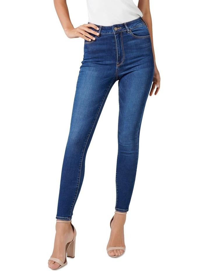 Helena High Rise Full Length Jeans image 1
