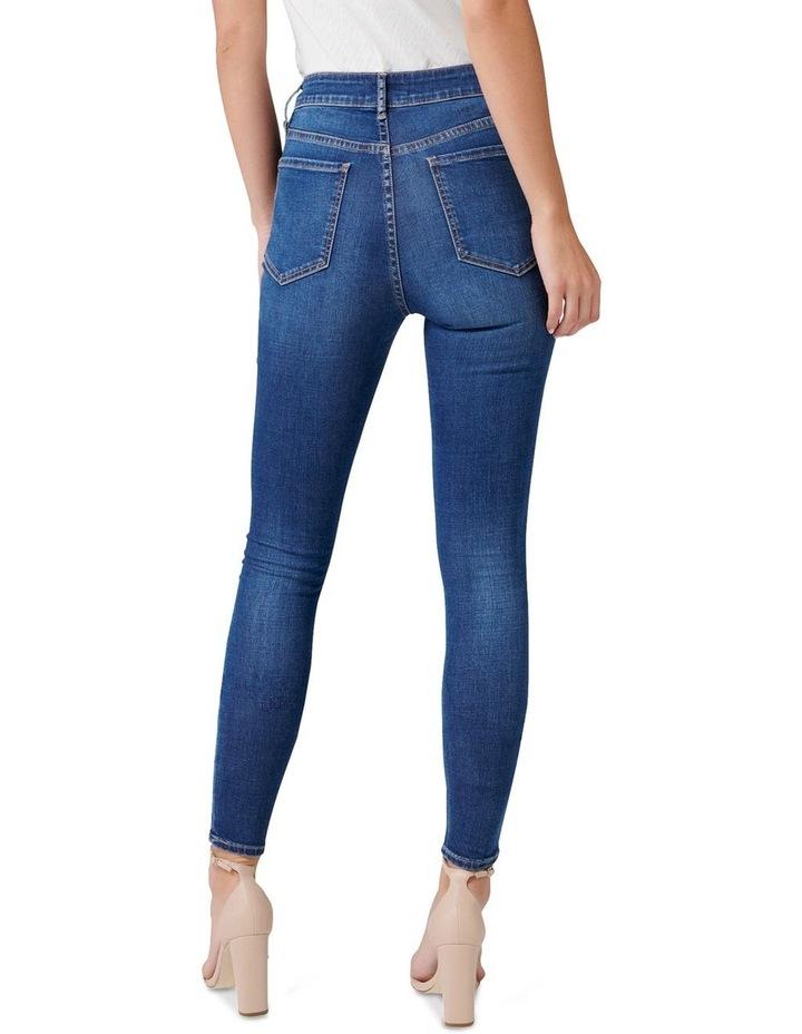 Helena High Rise Full Length Jeans image 3