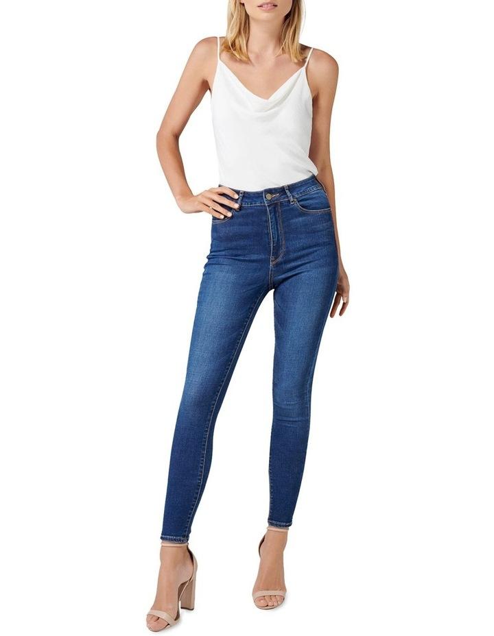 Helena High Rise Full Length Jeans image 4