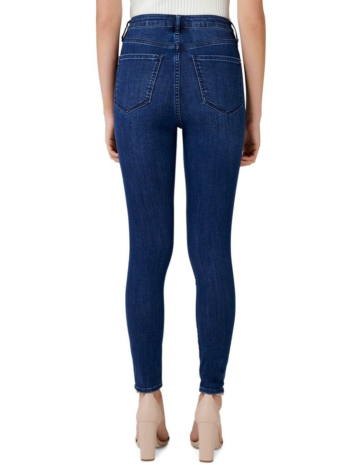 Heidi High Rise Ankle Grazer Jeans image 3