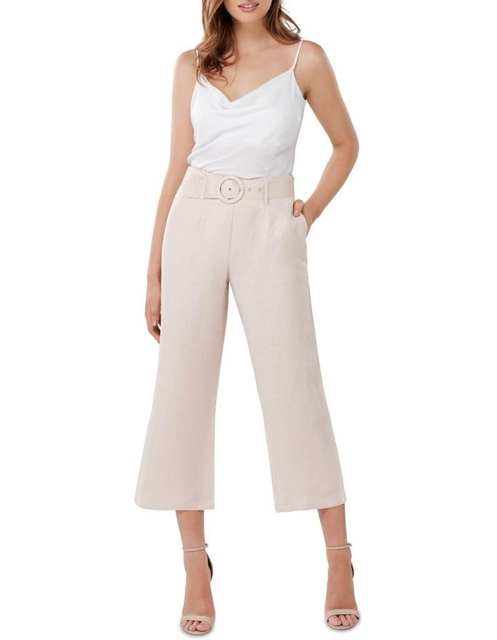 Vera Linen Blend Belted Pants image 4