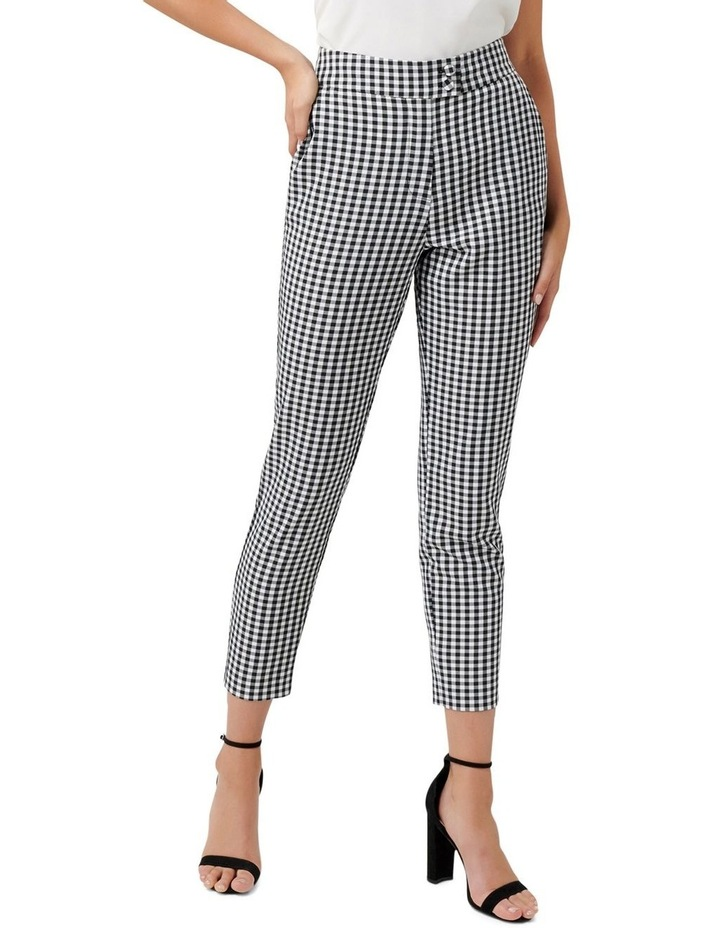 Gabby Gingham Stretch Pants image 1