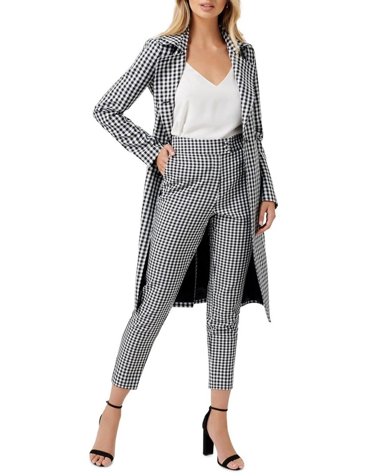 Gabby Gingham Stretch Pants image 4