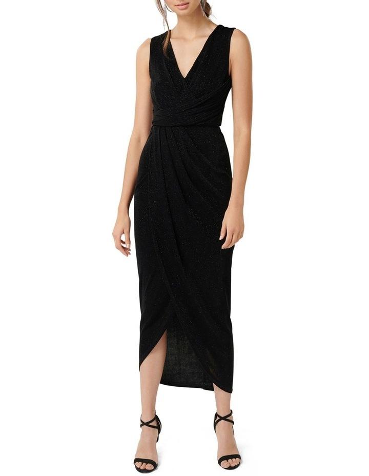 Amelia Drape Glitter Dress image 1