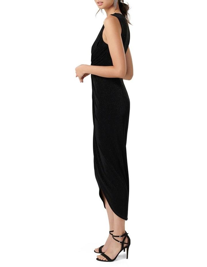 Amelia Drape Glitter Dress image 3