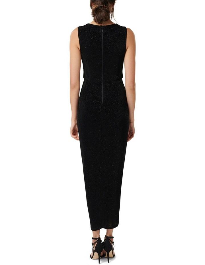 Amelia Drape Glitter Dress image 4