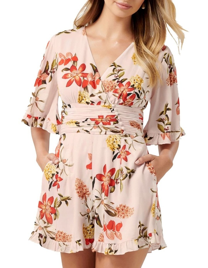 Fern Flutter Sleeve Playsuit image 1