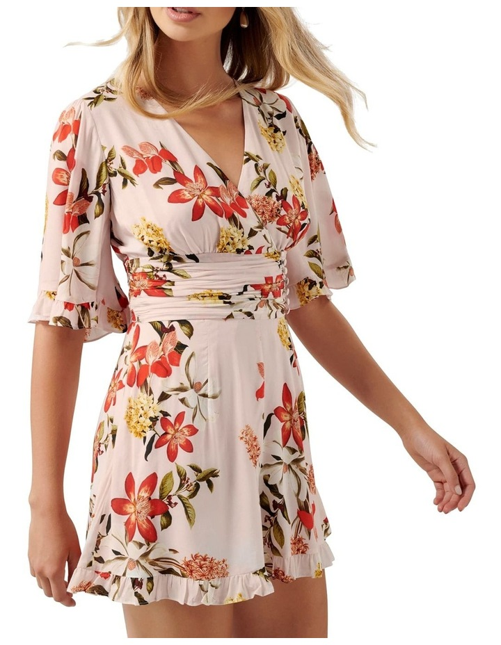 Fern Flutter Sleeve Playsuit image 2