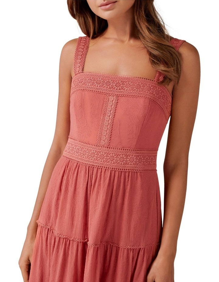 Georgina Square Neck Maxi Dress image 2