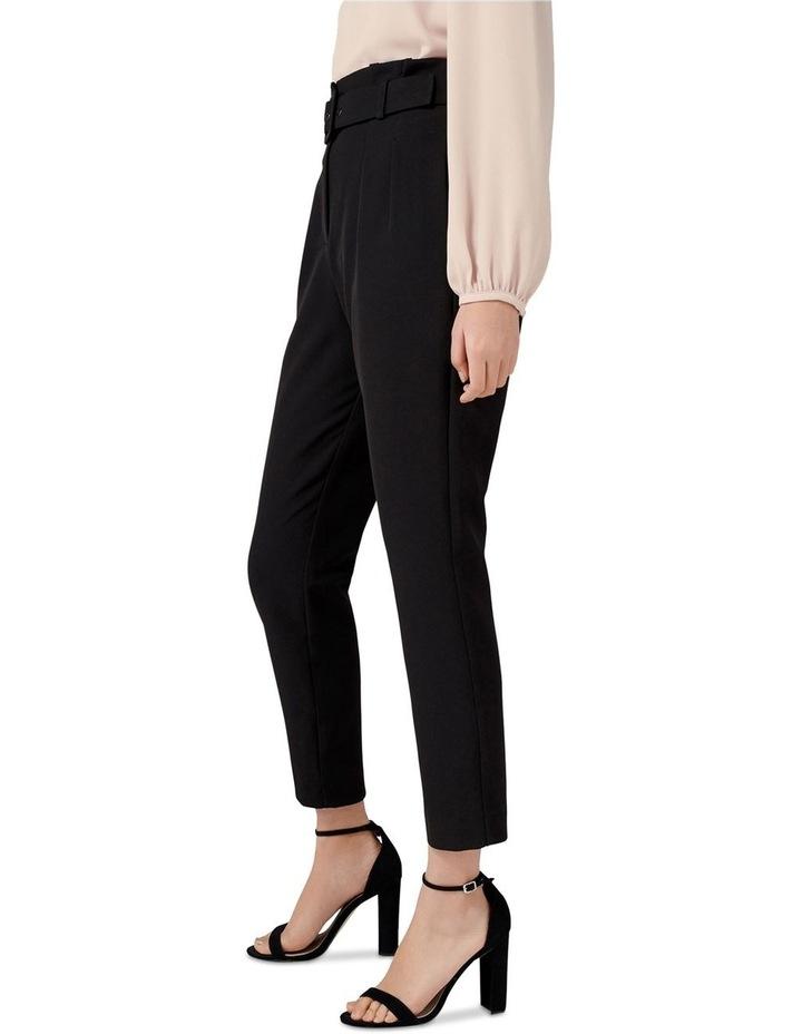 Tori Petite High-Waist Paperbag Slim Pants image 2