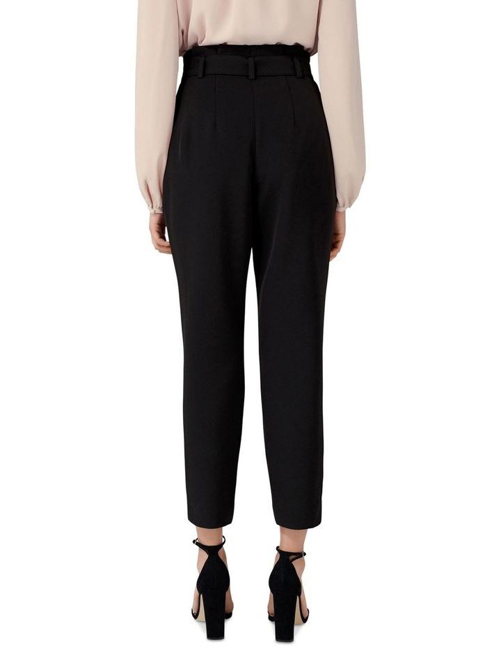 Tori Petite High-Waist Paperbag Slim Pants image 3