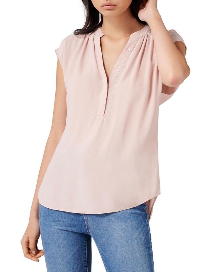 Emma Half Placket Sleeve Blouse image 1