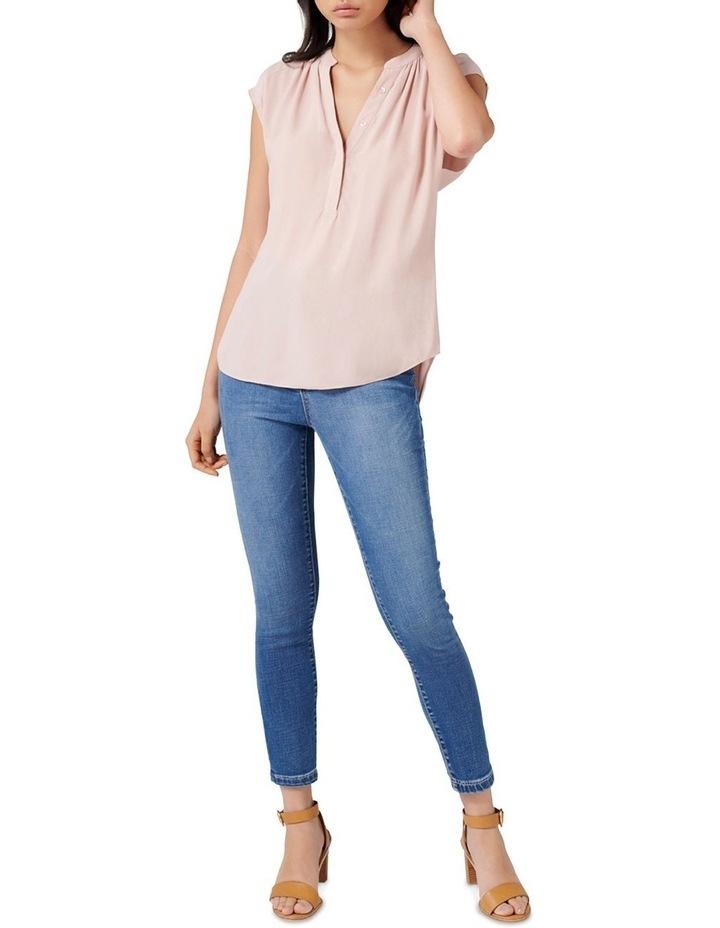 Emma Half Placket Sleeve Blouse image 4