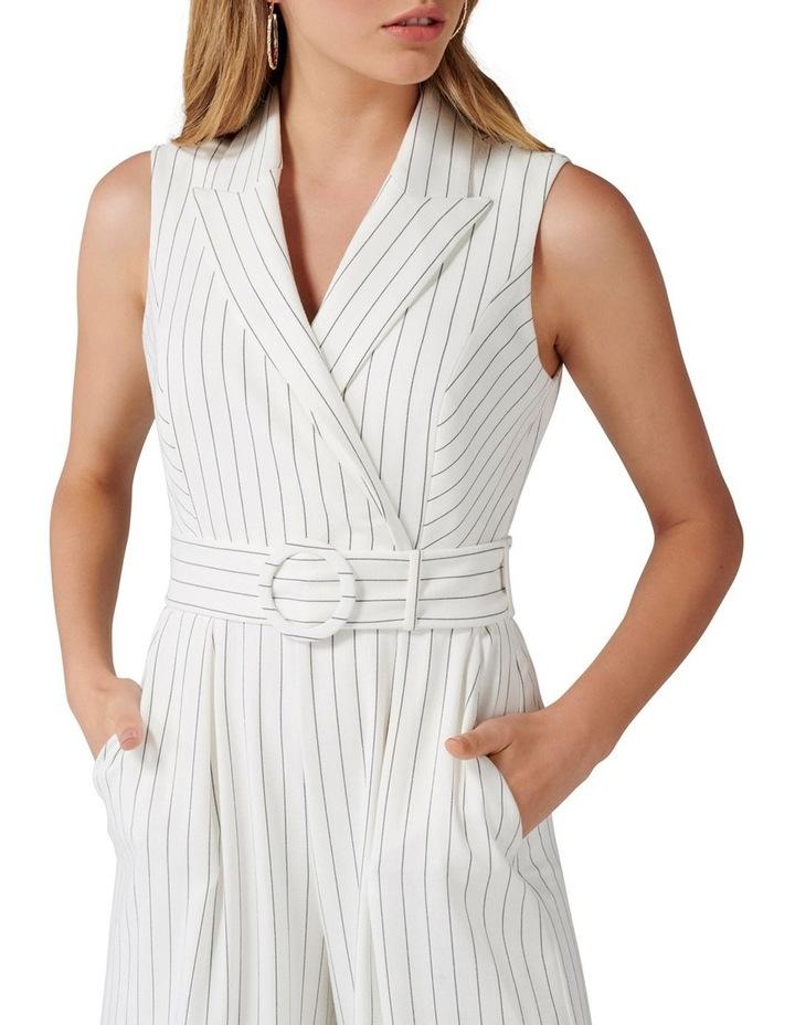 Farrah Petite Stripe Tux Jumpsuit image 2
