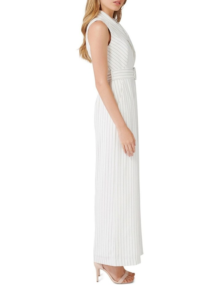 Farrah Petite Stripe Tux Jumpsuit image 3