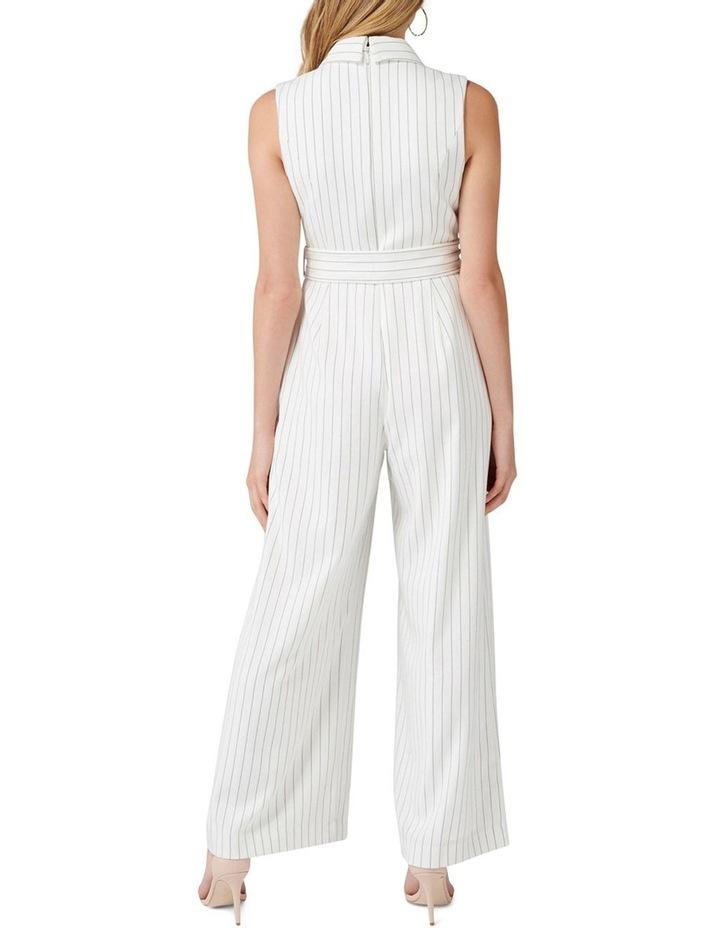 Farrah Petite Stripe Tux Jumpsuit image 4