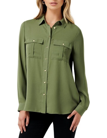03fe780f931 Forever New Shelly Utility Shirt