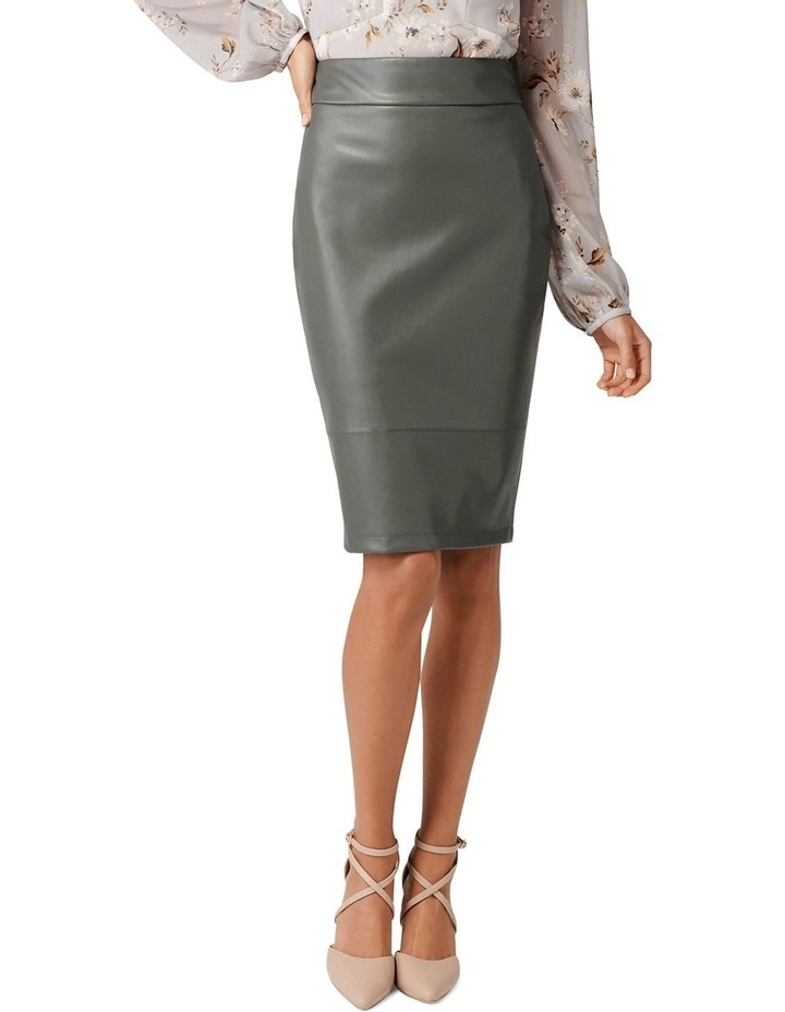 Amy PU Pencil Skirt image 1