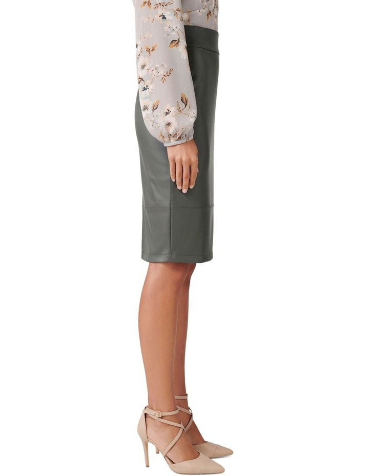 Amy PU Pencil Skirt image 2