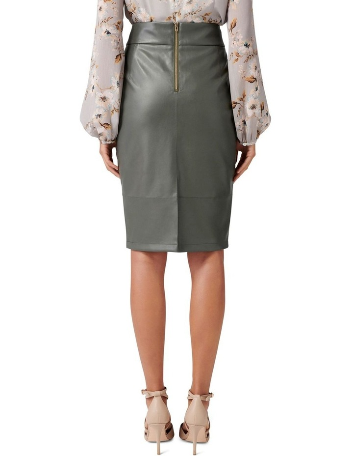 Amy PU Pencil Skirt image 3