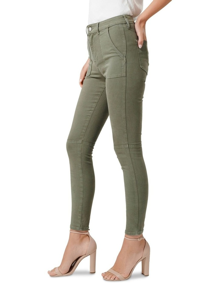 Jessie Mid Rise Cargo Jeans image 2