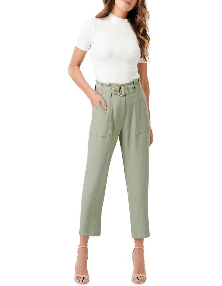 Bonnie Satin Utility Pants image 4