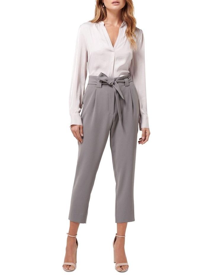 Natasha Petite Highwaist Tie Pants image 4