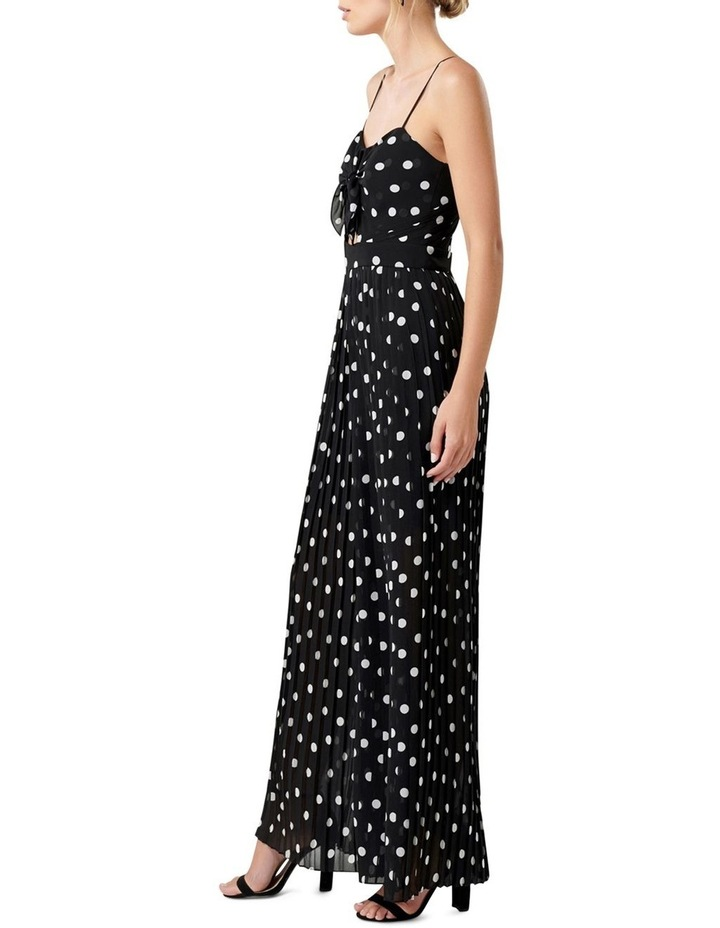 Gemma Polka Dot Pleated Jumpsuit image 3