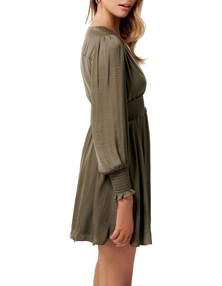 Evie Petite Long Sleeve Dress image 3