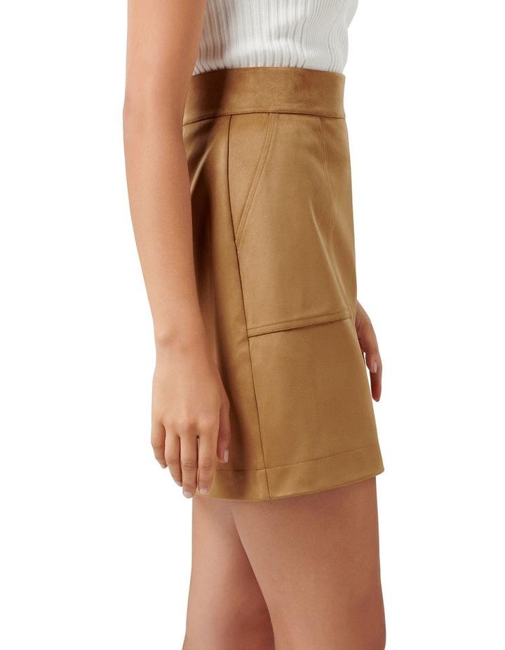 Tara Suedette Mini Skirt image 2