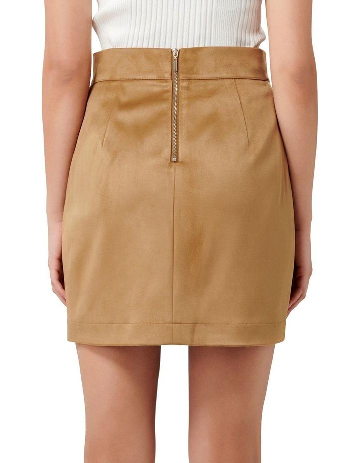 Tara Suedette Mini Skirt image 3