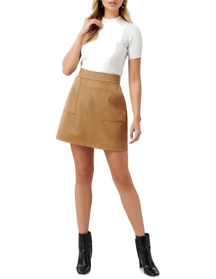 Tara Suedette Mini Skirt image 4