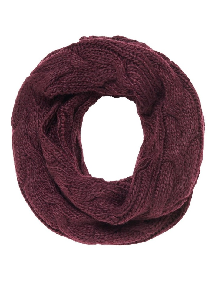 Cassie Cable Knit Snood image 1