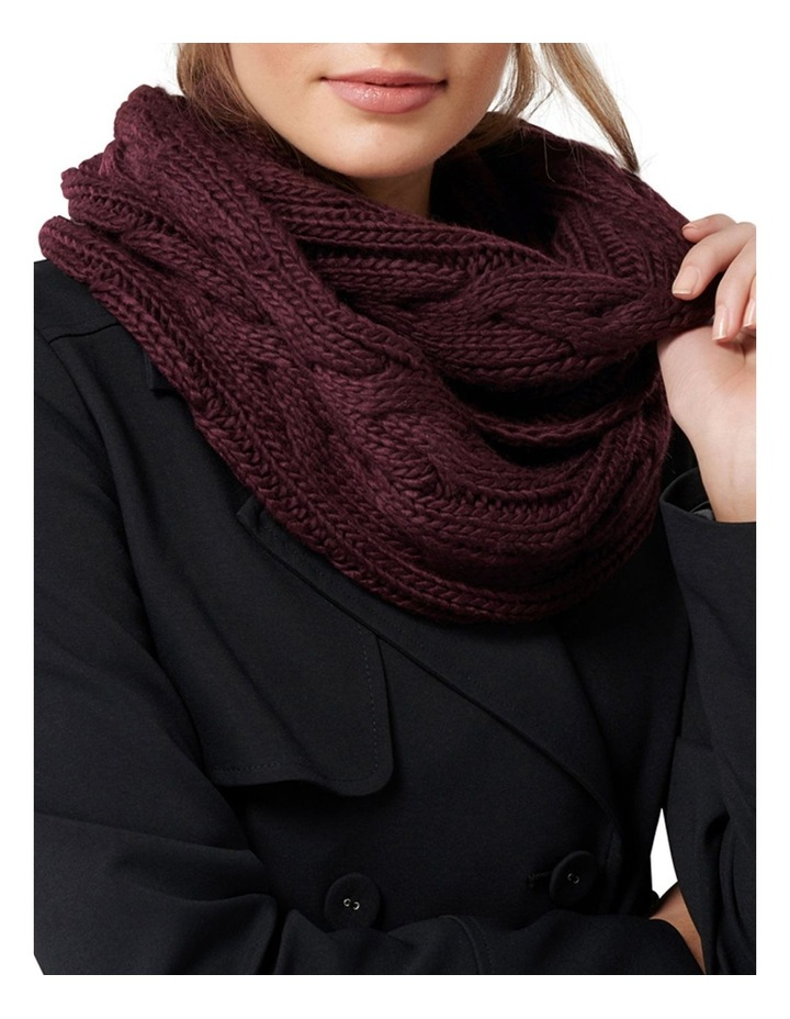 Cassie Cable Knit Snood image 2