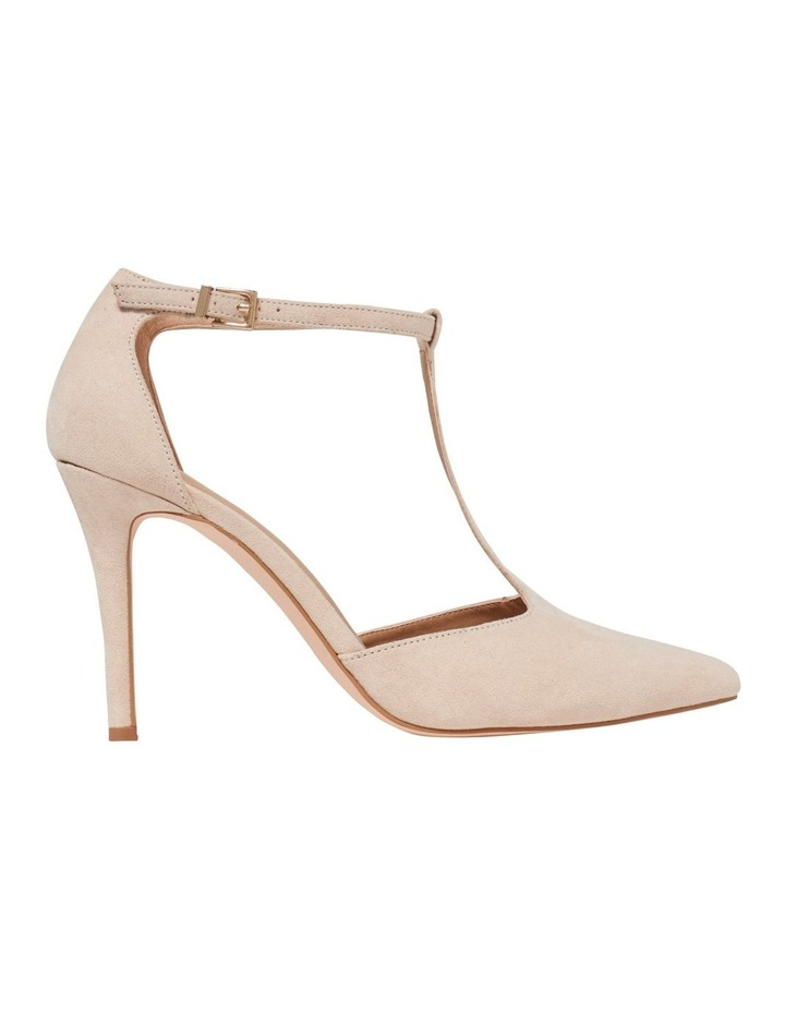 Alyssa T-Bar Pointed Court Shoes image 1
