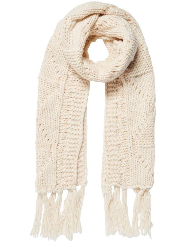 Maya Cable Knit Scarf image 1