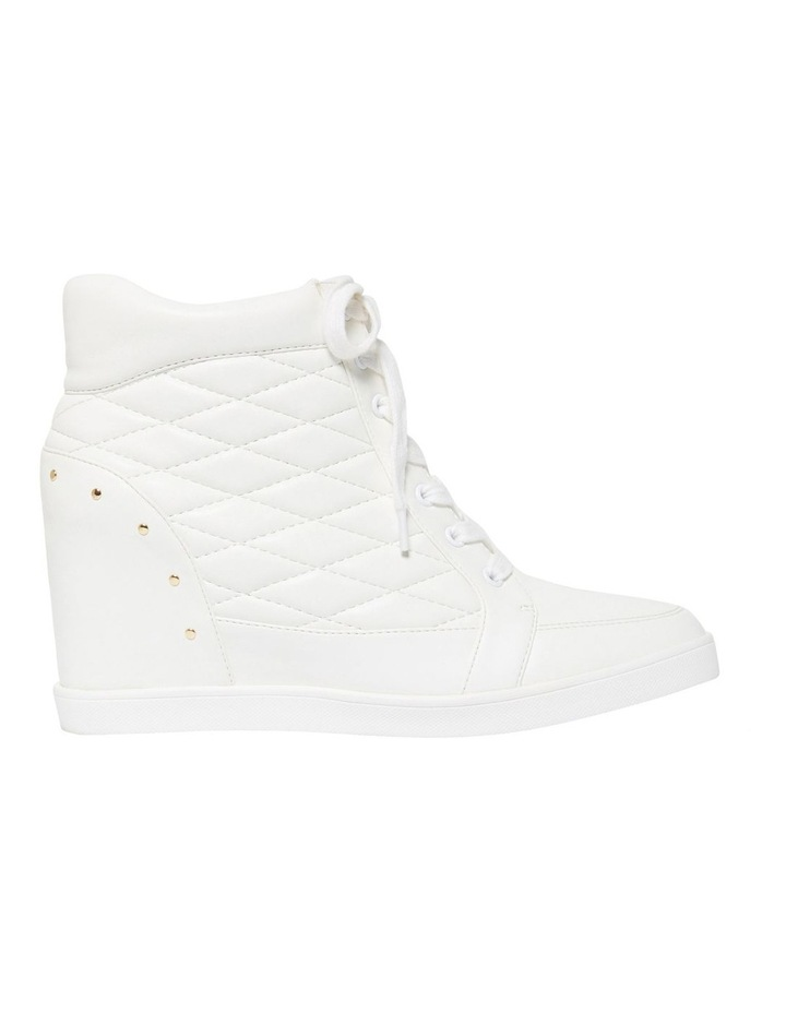 Kyra Quilted Wedge Trainers image 1